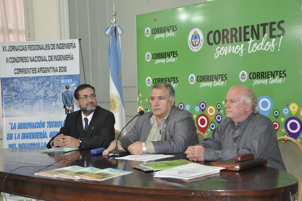 Anunciaron las XII Jornadas Regionales y el III Congreso Nacional de Ingeniería