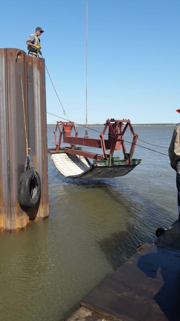 Presentarán los trabajos realizados de Defensa de Costa sobre el río Paraná