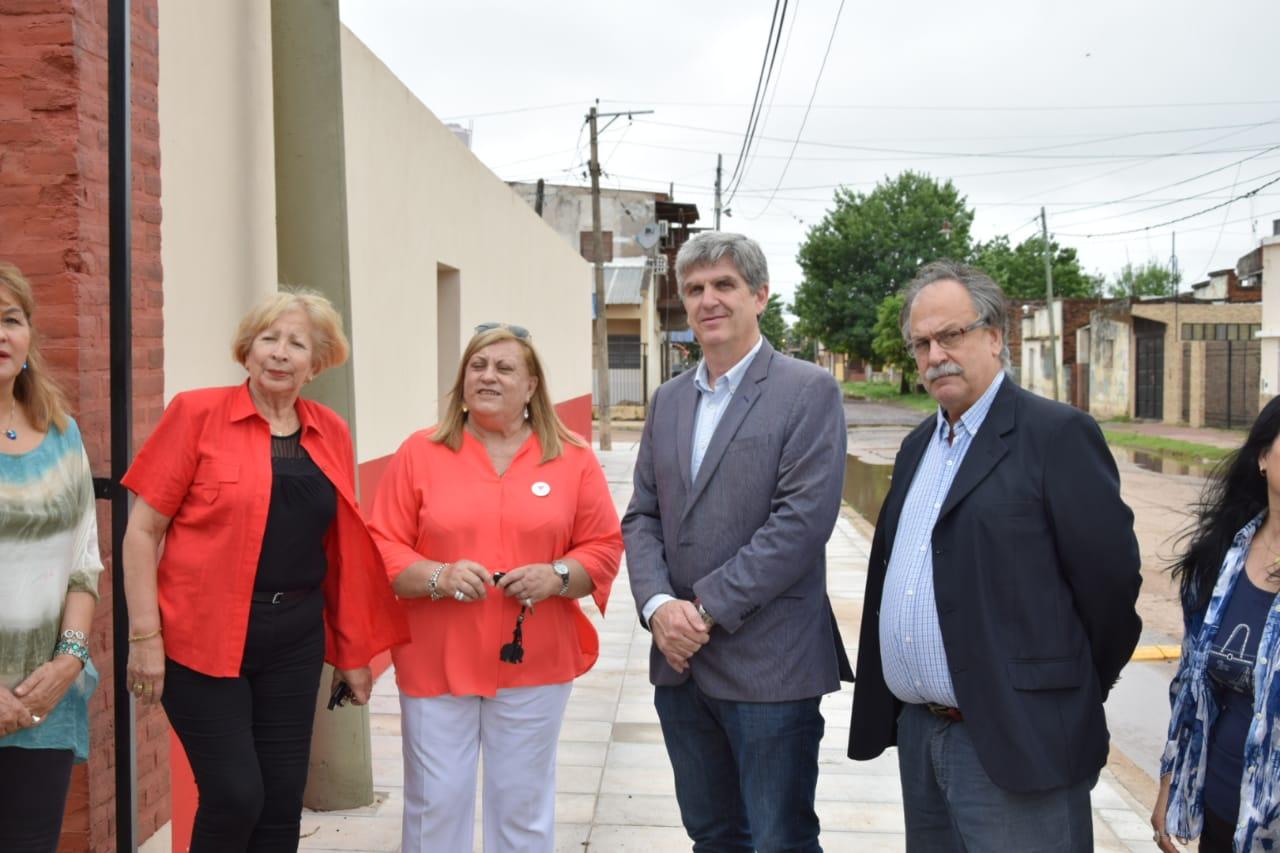 Con aporte provincial se inauguraron las obras en CADIM