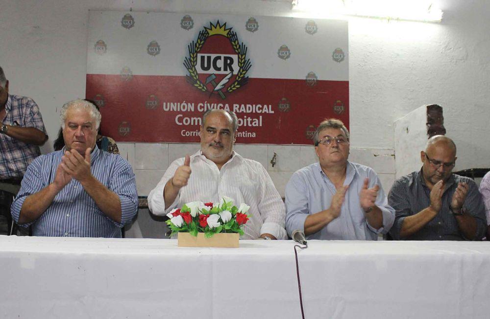 Ganó el consenso en la UCR y Ricardo Colombi será el presidente del partido
