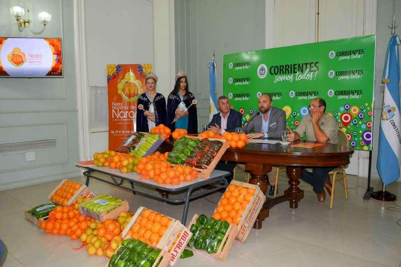 Bella Vista se prepara con todo para una nueva edición de la Fiesta Nacional de la Naranja