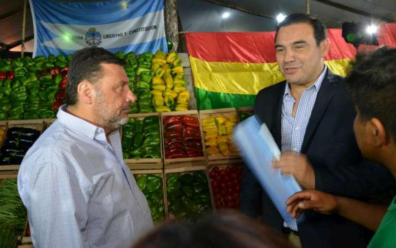 Valdés participó de la tercera noche de la 24ª Fiesta Nacional de la Horticultura