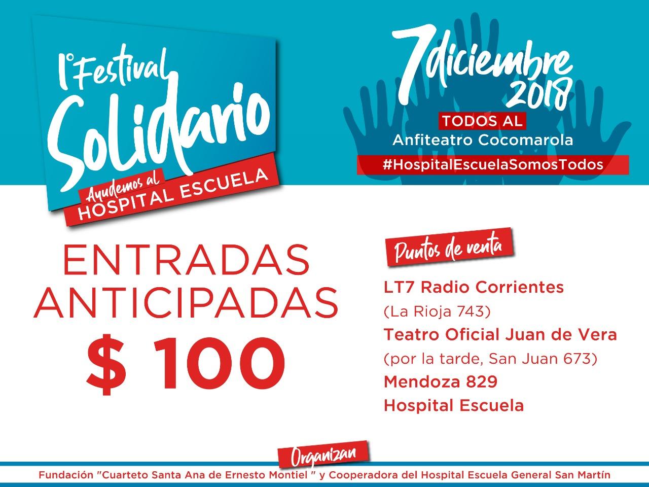 Festival Solidario «Hospital Escuela Somos Todos»
