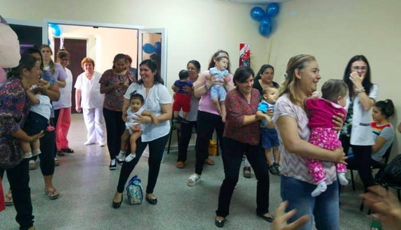 Con actividades en las maternidades, inició hoy la Semana Mundial del Prematuro
