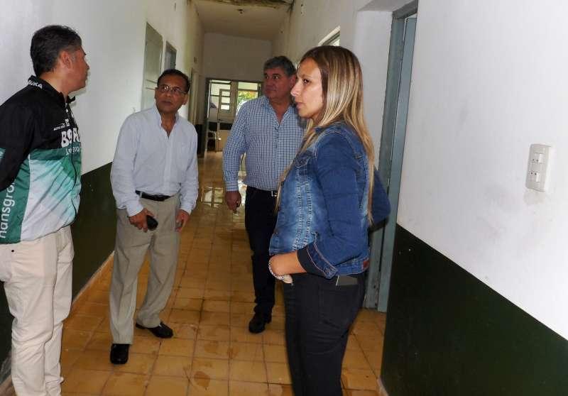 Cardozo recorrió centros de salud de la zona rural de Saladas