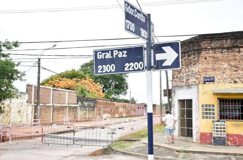Agentes municipales, en Contte casi General Paz