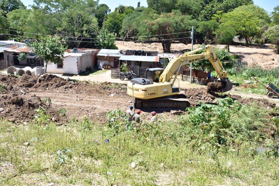 Tassano supervisó las obras de reconstrucción de la avenida Romero