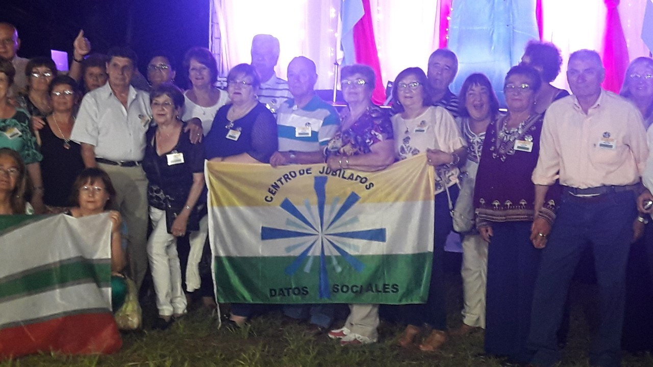 Extraordinaria velada disfrutaron las Personas Mayores del MERCOSUR