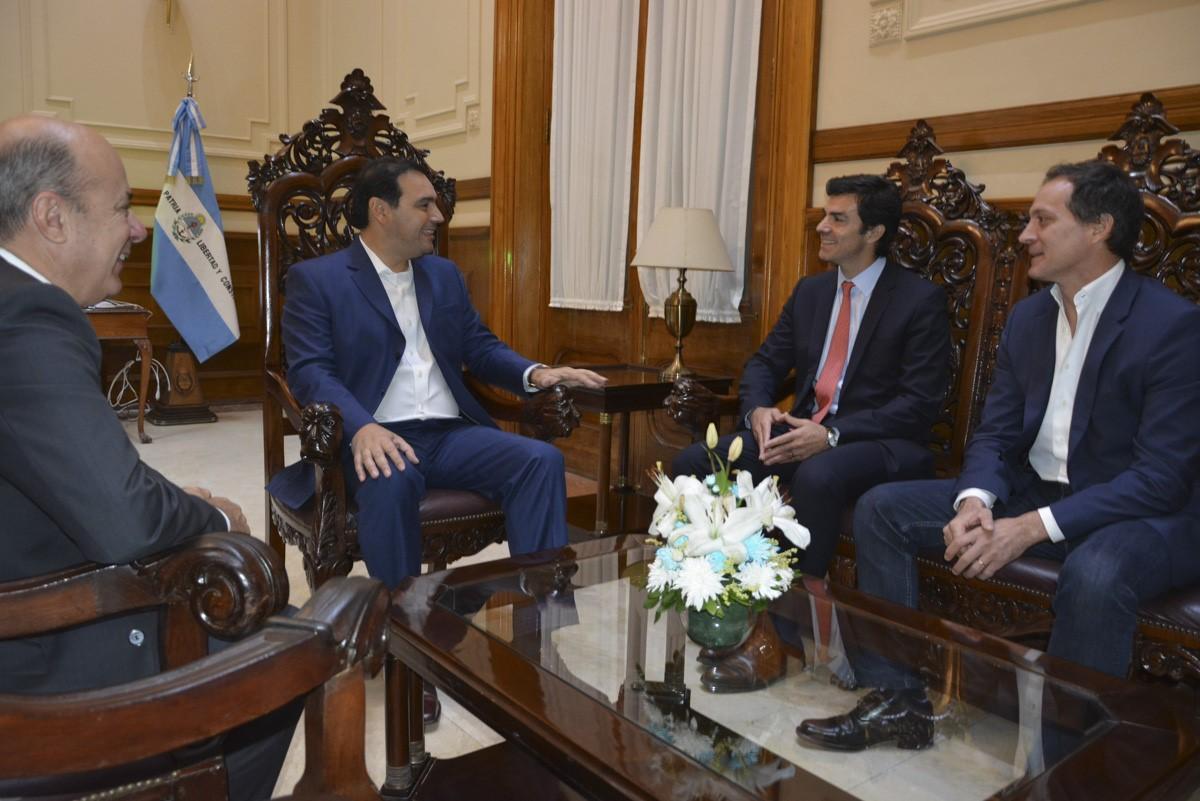 Valdés recibió la visita del gobernador de Salta, Juan Manuel Urtubey