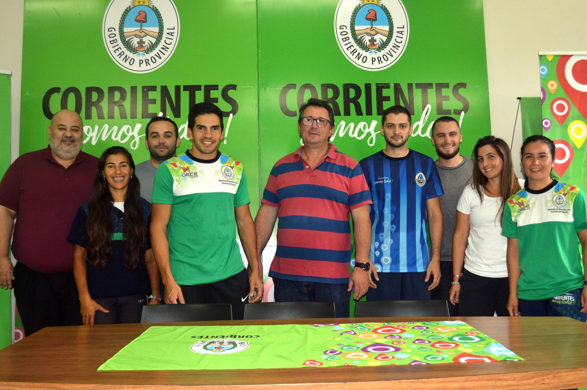 """Corrientes se prepara para los """"Juegos Nacionales de Playa"""", Rosario 2018"""