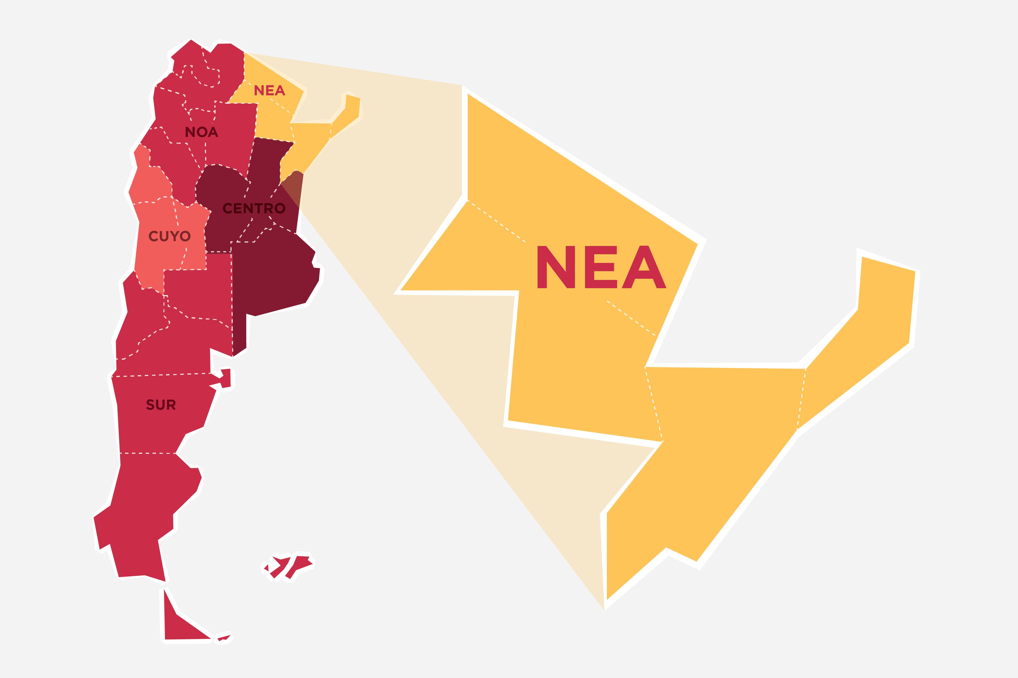 El Nordeste, una región de conformación reciente que logró consolidar su identidad