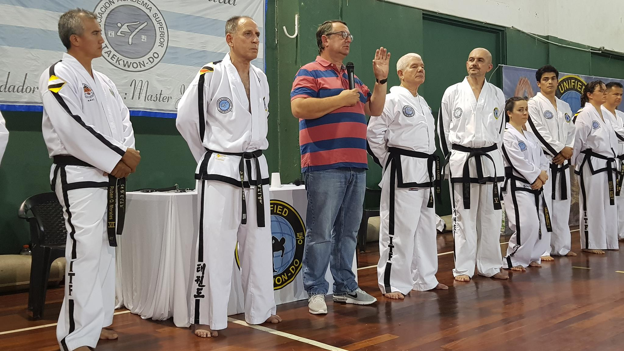La última Master Class de Taekwondo del año cerró con gran éxito de convocatoria