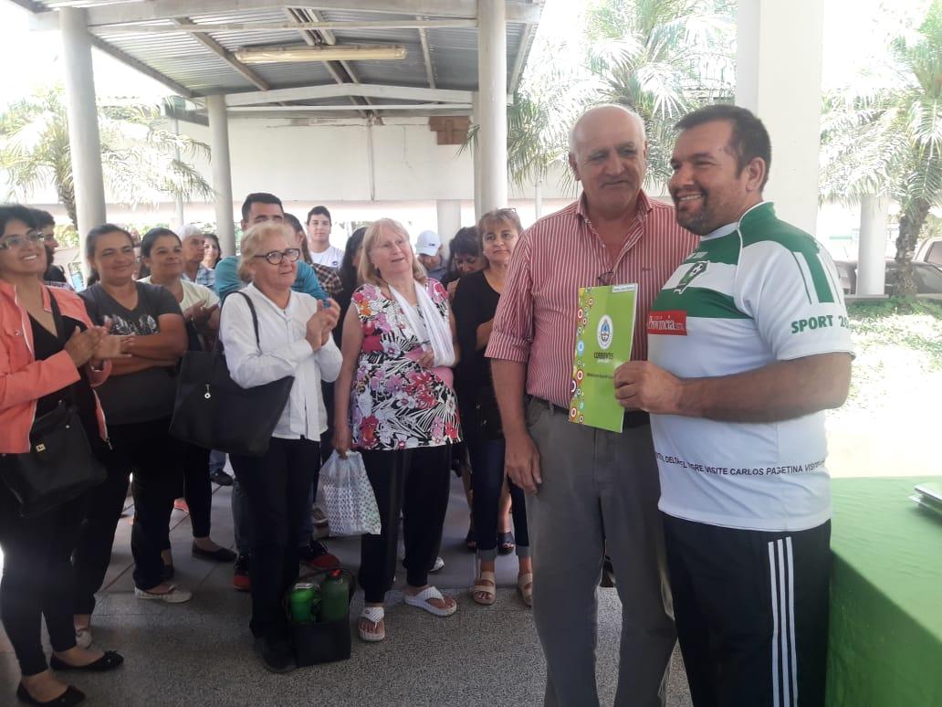 La provincia entregó Microcréditos a 109 Puesteros de La Rotonda