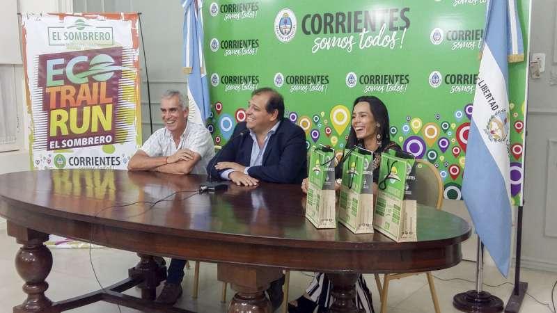 Anunciaron la realización del evento deportivo Eco Trail Run de El Sombrero