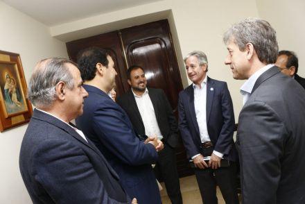 El gobernador Valdés firma con Nación convenios de conectividad e inclusión digital para la provincia de Corrientes