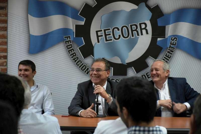 Tassano expuso ante la Fecorr sobre tarifaria y desarrollo económico