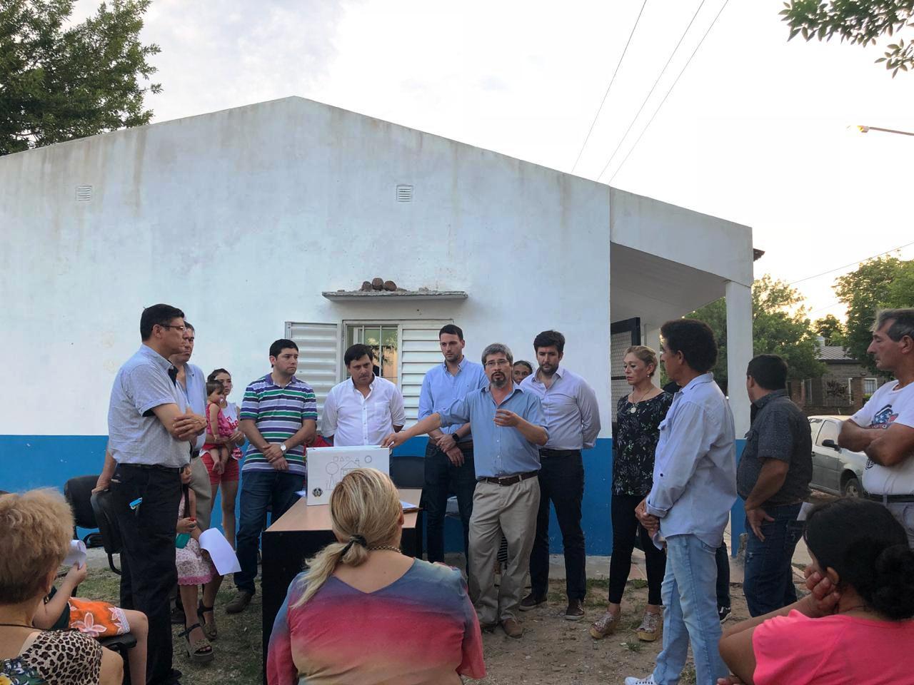 Barrios sin Drogas, se inauguró un centro de denuncias anónimas en el Serantes