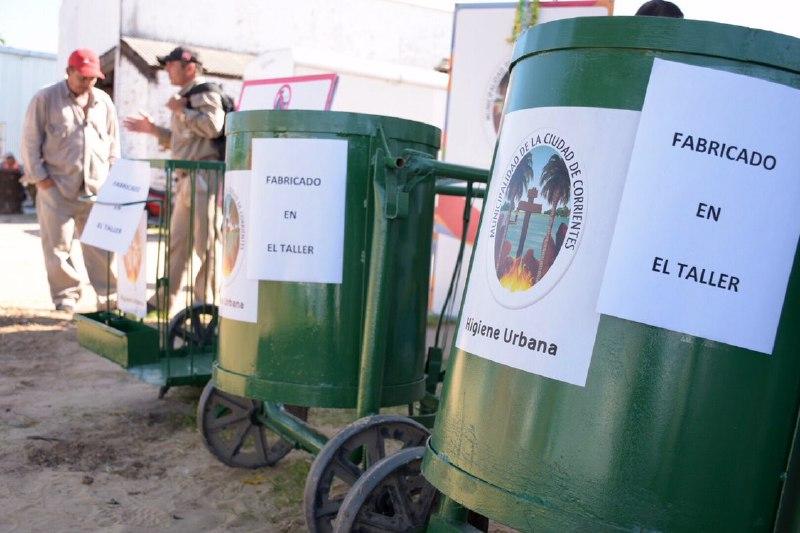 El taller municipal construirá carritos y herramientas para optimizar la limpieza en la ciudad