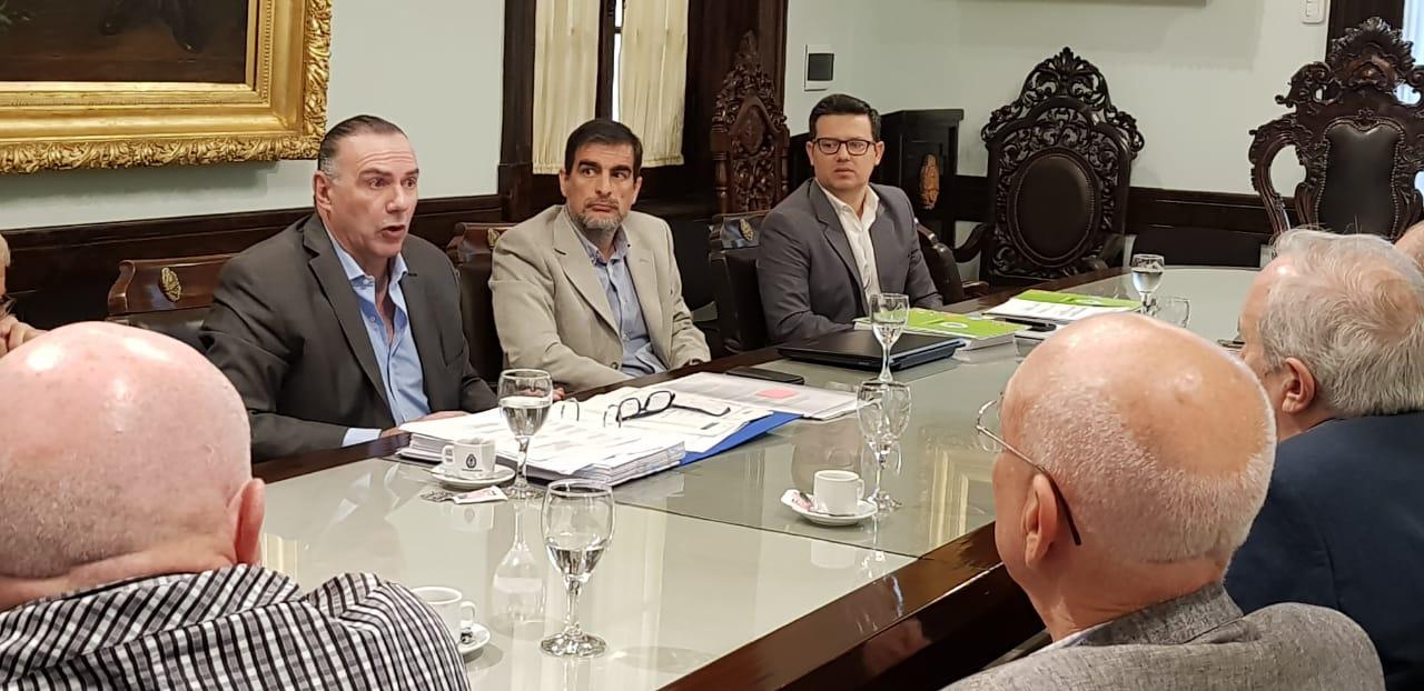 Presupuesto 2019, el empresariado correntino expresó su apoyo y acompañamiento al proyecto