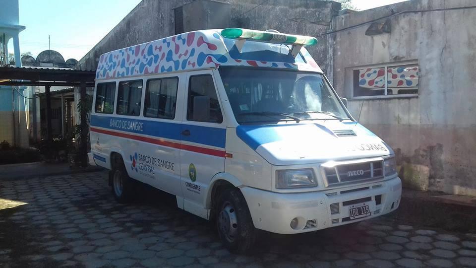 El Banco de Sangre Central de Corrientes realizará dos colectas externas de sangre