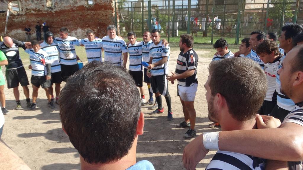 Histórico partido de rugby en la Unidad Penal Nº1