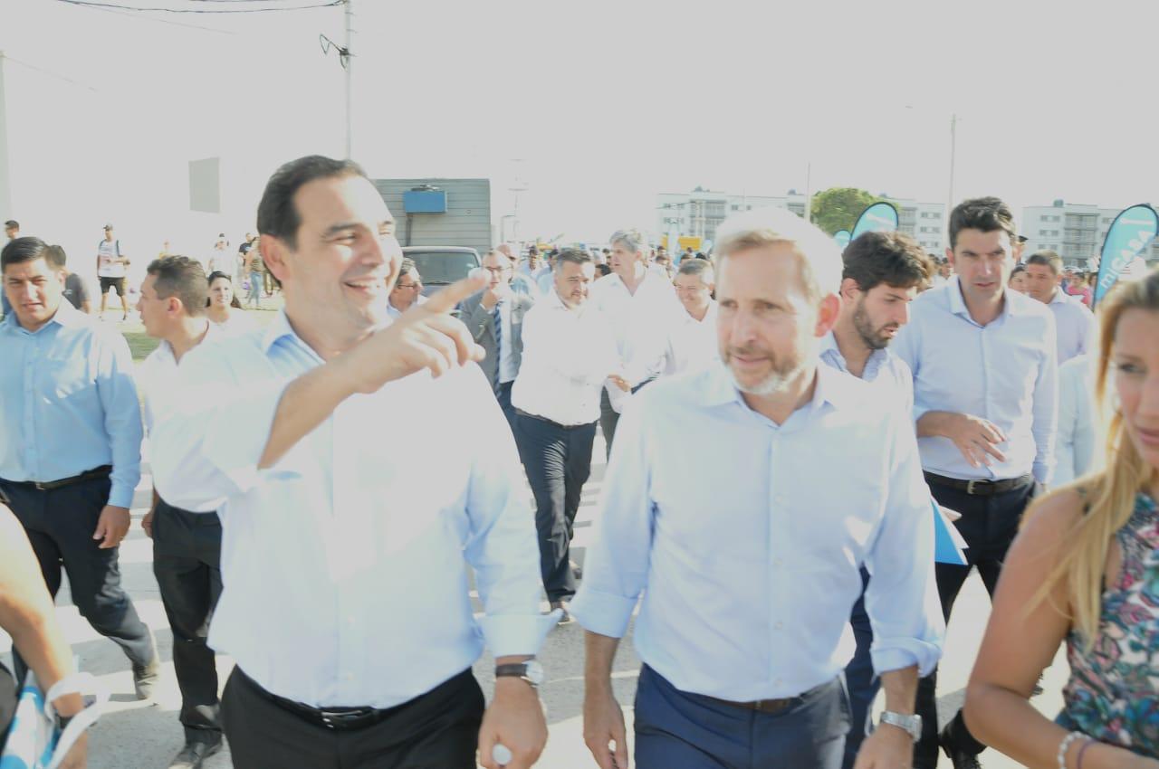 """Valdés y Frigerio destacaron el trabajo en conjunto para """"el futuro de los correntinos"""""""