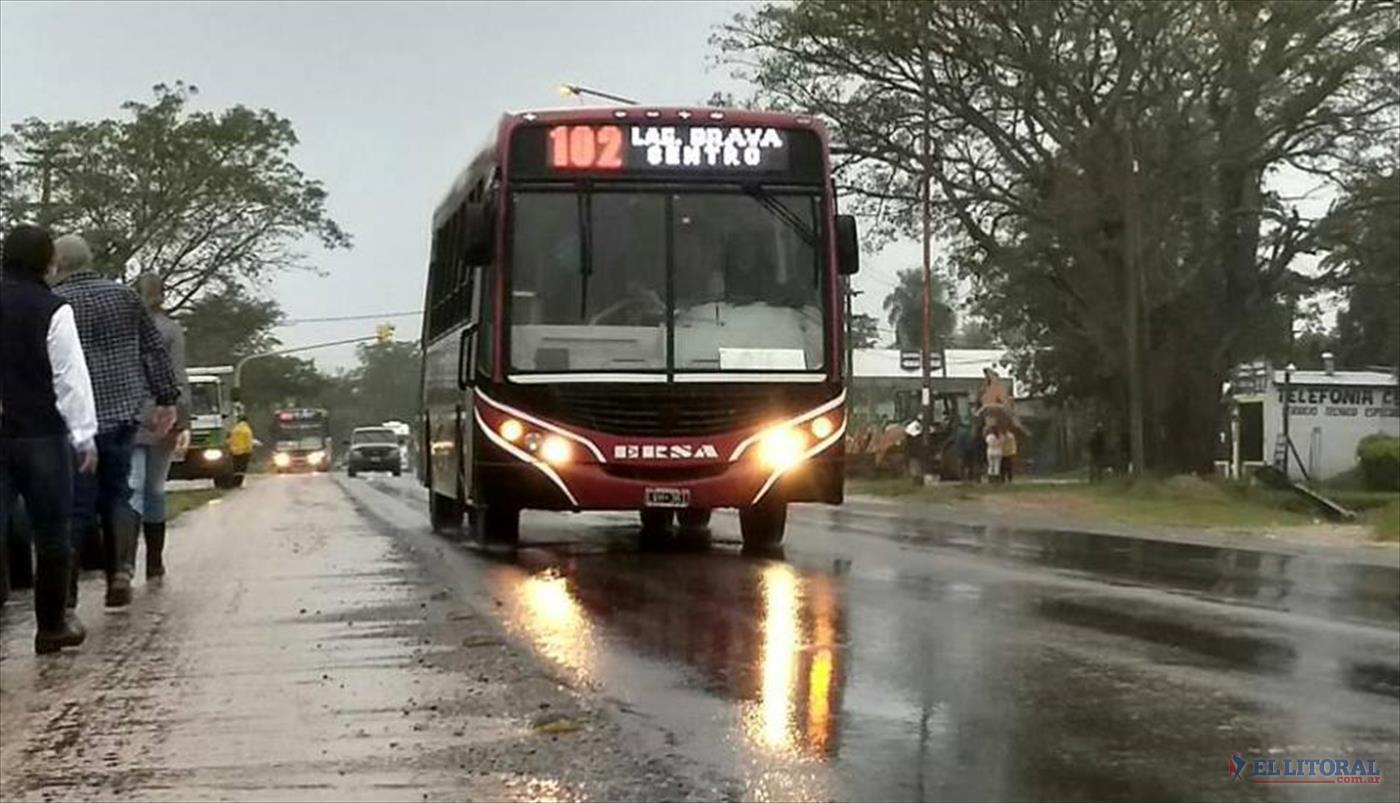El aumento del transporte en Corrientes es menor que en Misiones, Santiago del Estero y Santa Fe