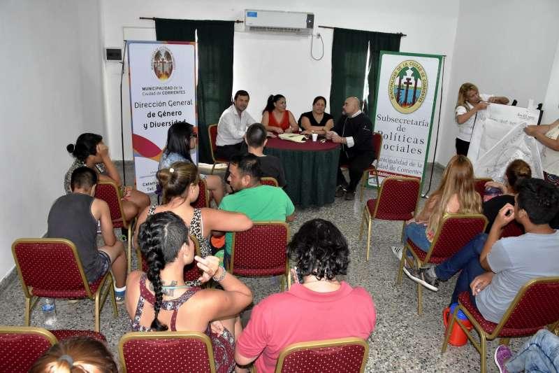 La Municipalidad ofrece capacitaciones para el colectivo LGTBIQ