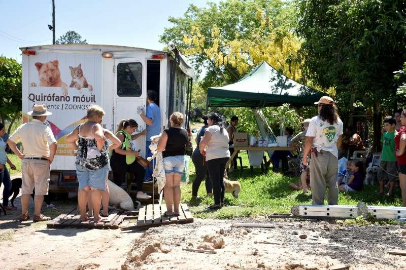 Mascotas Saludables, el programa municipal llegó al barrio Yecohá