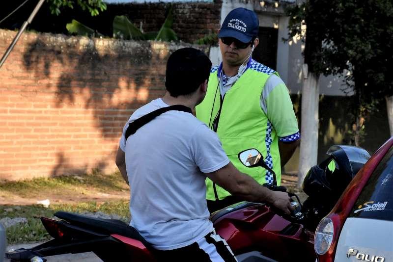 Realizarán operativos de seguridad vial durante la fiesta de Navidad