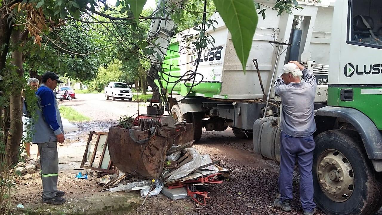 Exitoso operativo de descacharrado en el San Gerónimo