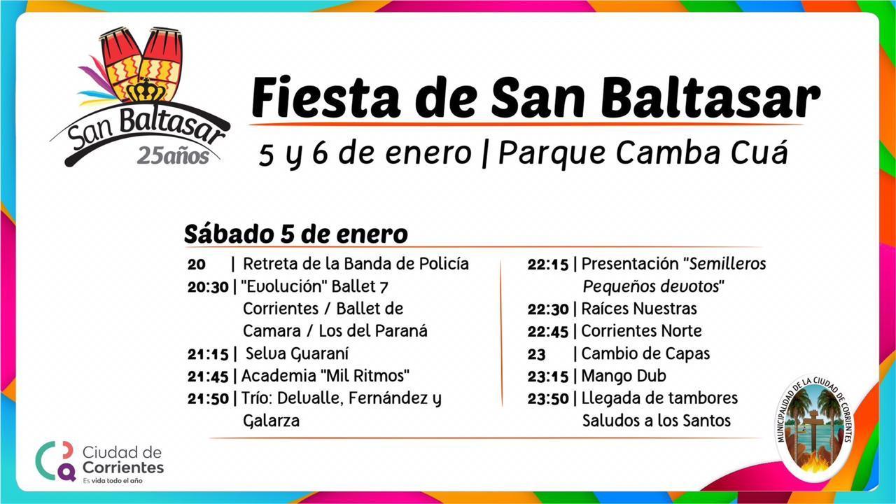 La Municipalidad anunciará los festejos por San Baltasar
