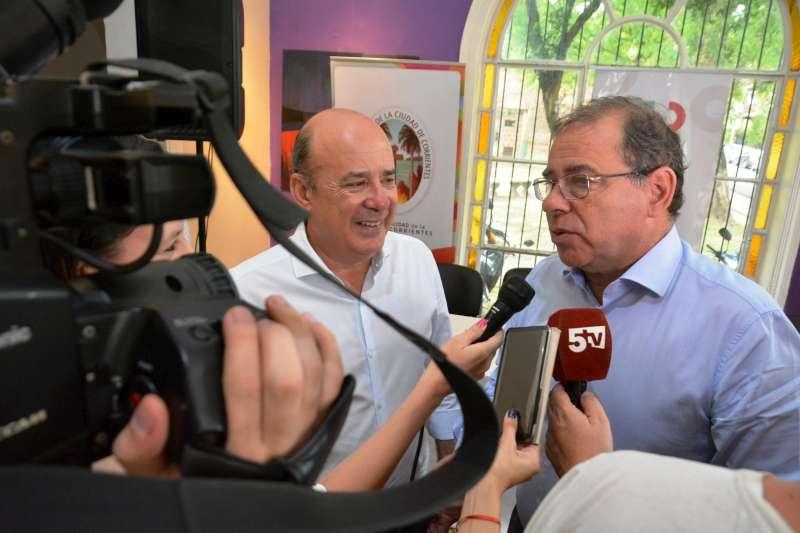 Municipio y Provincia presentaron los festejos por San Baltasar