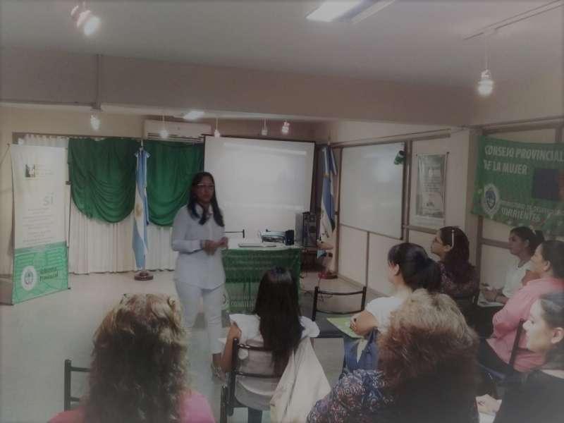 Con gran éxito se concretó una reunión con Áreas de la Mujer del Interior