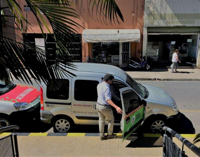 El hospital Geriátrico cuenta con un servicio de Atención Domiciliaria Integral