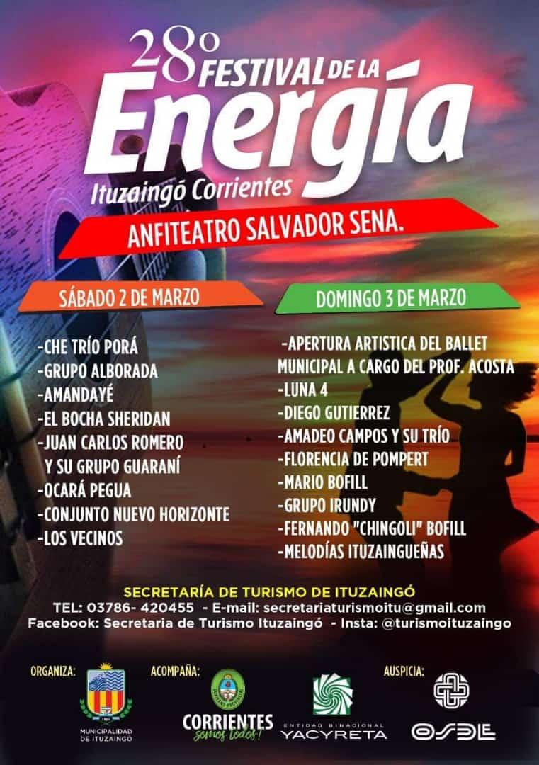 La EBY invita al Festival de la Energía de Ituzaingó