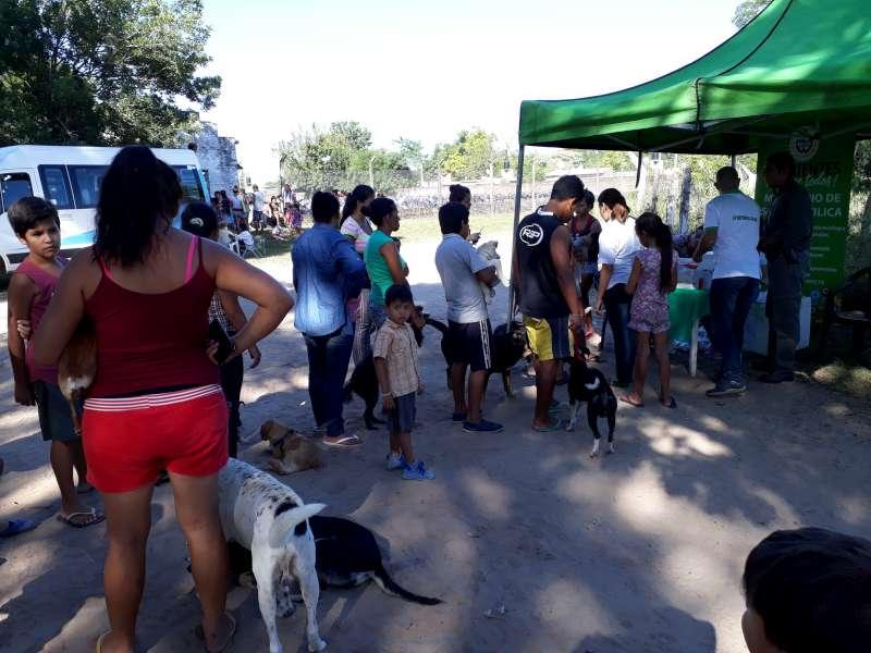 La Provincia brindó servicios de salud en el barrio Esperanza