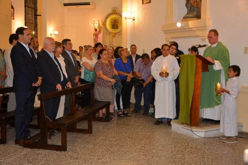 """El gobernador Gustavo Valdés inauguró de la restauración de la Iglesia San Roque y San Jacinto """"La Rotonda"""""""