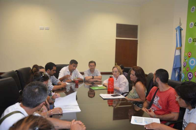 Desarrollo Social y Educación se reunieron con organizaciones sociales