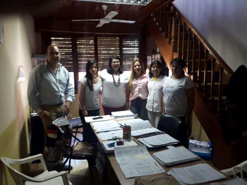 El COPNAF se reunió con actores sociales