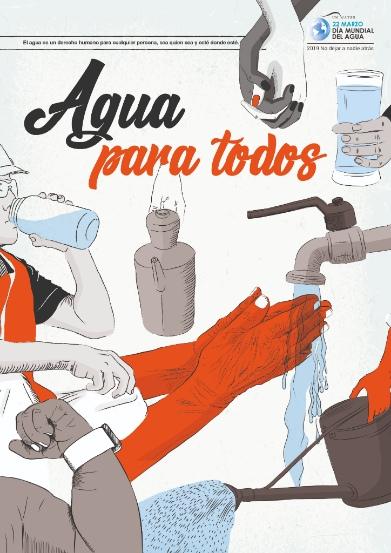 """Día Mundial del Agua.""""No dejar a nadie atrás"""" que el agua sea inclusiva"""