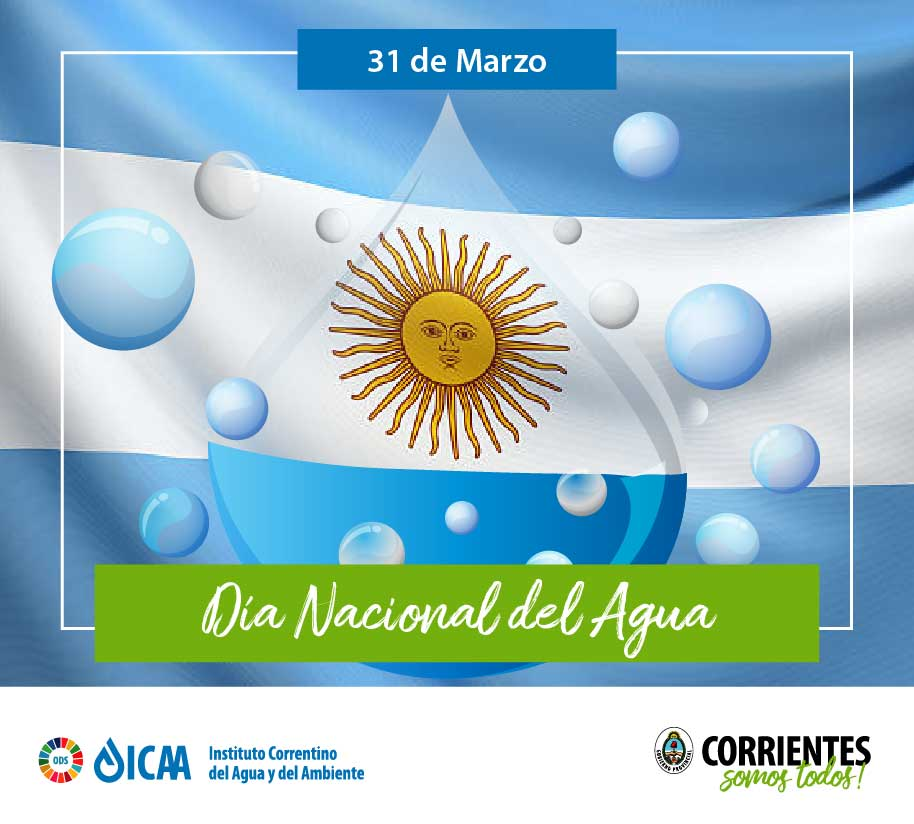 El ICAA invita a celebrar el Día Nacional del Agua