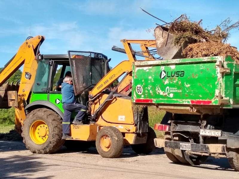 La Municipalidad continúa con los trabajos de limpieza para erradicar basurales crónicos