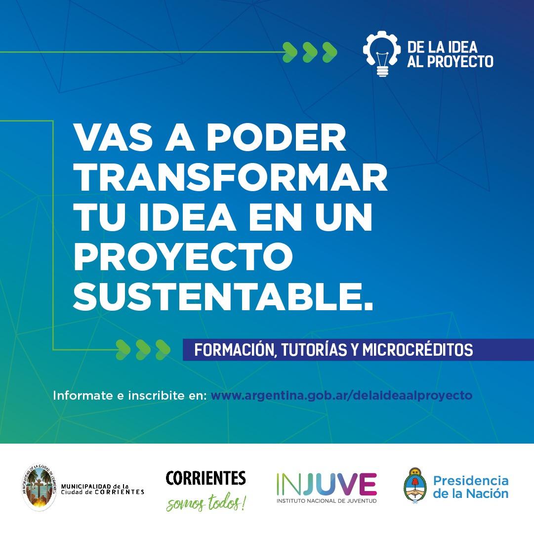 """Lanzamiento del programa """"De la idea al proyecto"""" en Corrientes"""