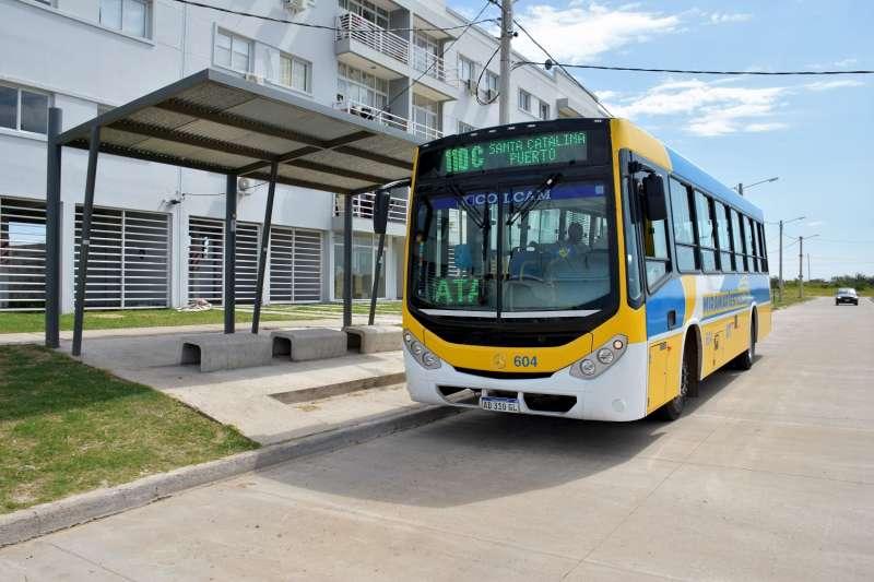 El transporte público de Santa Catalina cuenta con cinco nuevas unidades