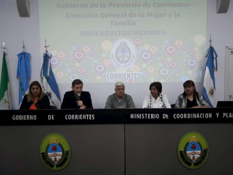 Primera reunión de Consejos Provinciales de Adultos Mayores