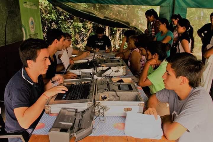 Anses continúa realizando operativos en barrios de la Capital
