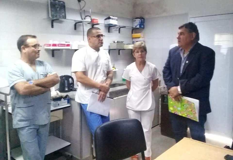 Nueva conducción en el Hospital de Berón de Astrada
