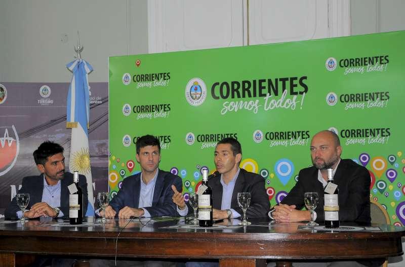 """Presentaron la primera edición de la Feria de Vinos y Gastronomía Itinerante """"Paraná Malbec"""""""