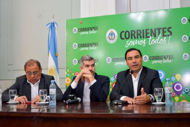 Gustavo Valdés y Marcos  Peña coincidieron en no ocultar los índices de pobreza y atacar el problema de fondo